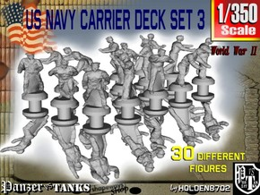 1/350 US Navy Carrier Deck Set 3 in Smoothest Fine Detail Plastic
