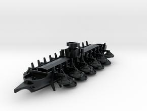 Siege Bireme Airship in Black Hi-Def Acrylate: 1:1000