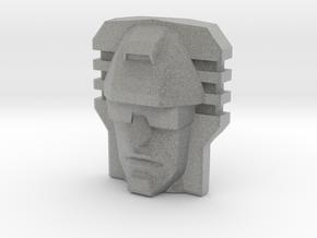 Devastator, Sunbow Face (Titans Return) in Metallic Plastic