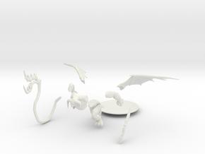 Balor - Updated Pose in White Natural Versatile Plastic