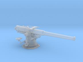 1/48 USN 4 inch 50 (10.2 cm) Sub Deck Gun in Smooth Fine Detail Plastic