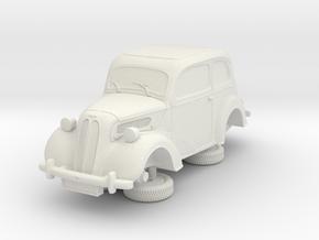 1-87 Ford Anglia E494a in White Natural Versatile Plastic