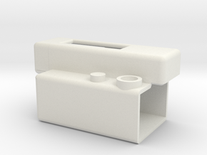 LaForge IR Remote Holder V2.1 in White Strong & Flexible