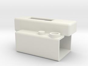 LaForge IR Remote Holder V2.1 in White Natural Versatile Plastic
