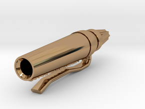 ReCharge Cylinder BSG in Polished Brass