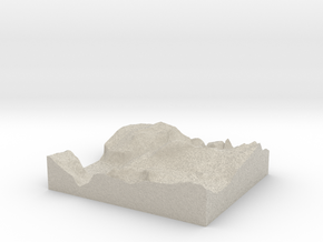 Model of Diving Board in Natural Sandstone