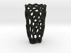DPS VORONOIVASE in Black Natural Versatile Plastic