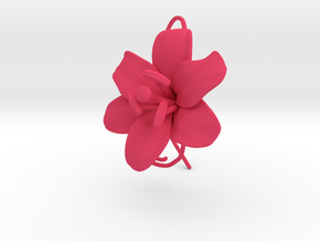 AirCharm Lily Flower - Right in Pink Processed Versatile Plastic