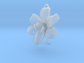 AirCharm Lily Flower - Right in Smooth Fine Detail Plastic