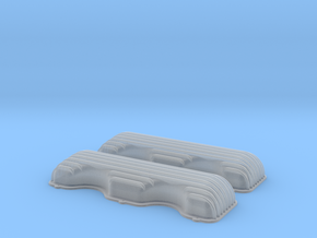 1/43 409 Finned Valve Covers File in Smoothest Fine Detail Plastic