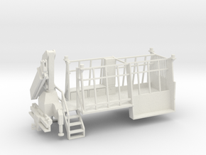DOT Sign Truck 1-87 HO Scale in White Natural Versatile Plastic