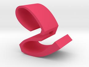 Watch Display Customise in Pink Processed Versatile Plastic
