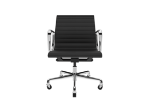 Eames Aluminium Group Management Chair in Frosted Ultra Detail: 1:24