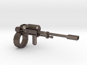 1:18 rail gun in Stainless Steel