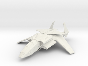 Halo UNSC Falcon Fighter 1:100 in White Natural Versatile Plastic: Medium