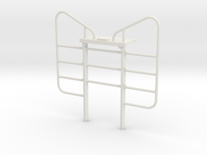 1/16 Peerless Logger Headache Rack in White Natural Versatile Plastic