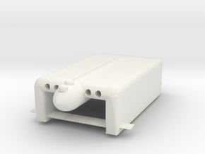 1/144 Scale Germans Manta Mini U-Boat Hydrofoil in White Natural Versatile Plastic