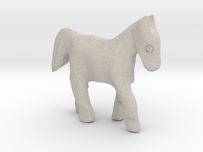 Horse in Natural Sandstone