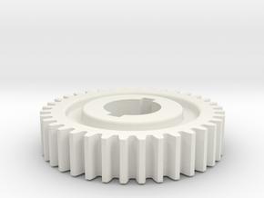 36T Atlas 618/Craftsman 101 Change Gear in White Strong & Flexible