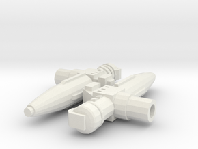 Infrared Missiles (2) in White Natural Versatile Plastic