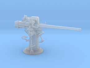 1/72 3 inch 50 cal USN deck gun in Frosted Ultra Detail: 1:72