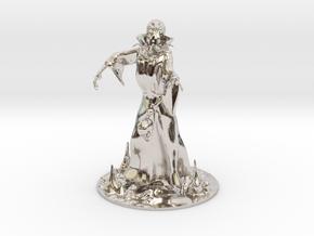 Mind Flayer Miniature in Platinum: 1:60.96