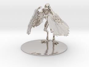 Aarakocra Miniature in Platinum: 1:60.96