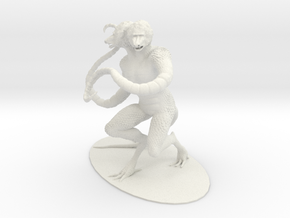 Demogorgon Miniature in White Natural Versatile Plastic: 1:60.96