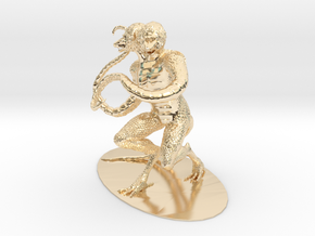 Demogorgon Miniature in 14K Yellow Gold: 1:60.96