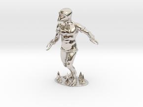 Crabman Miniature in Platinum: 1:60.96