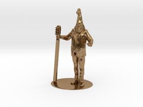 Vermin Supreme Miniature in Raw Brass: 1:60.96