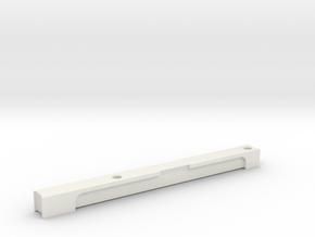 ROTJ E-11 Scope Rail No Front Sight in White Natural Versatile Plastic