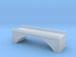 (1:450) Single Arch Double Track 60mm Bridge in Smooth Fine Detail Plastic