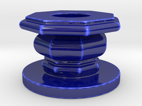 Port Can P 1 Ottobre in Gloss Cobalt Blue Porcelain