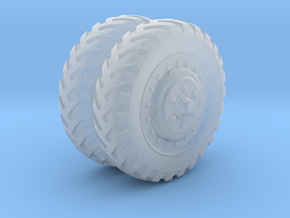 "1/48 US halftrack Front wheel ""Firestone"" in Smooth Fine Detail Plastic"