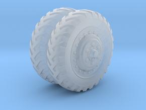 "1/48 US halftrack Front wheel ""Firestone"" in Smooth Fine Detail Plastic"