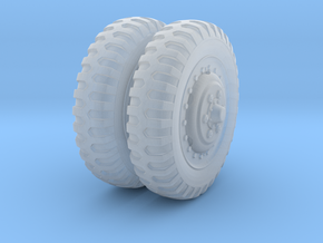 1/48 US Halftrack front wheel tyre NDT in Frosted Ultra Detail