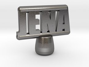 Jena Tiller Pin in Polished Nickel Steel