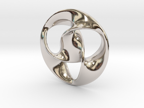 All is one Pendant  in Platinum
