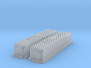 1/43 Buick Nailhead Weiand Valve Covers in Frosted Extreme Detail