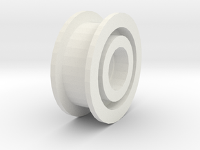 Tamiya TA07 Pro Belt Tensioner Pulley in White Natural Versatile Plastic
