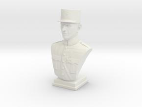 Charles De Gaulle  in White Natural Versatile Plastic