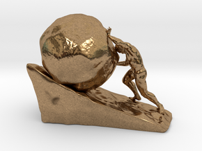 Sysiphus in Natural Brass