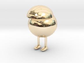 The Little Fella in 14k Gold Plated Brass