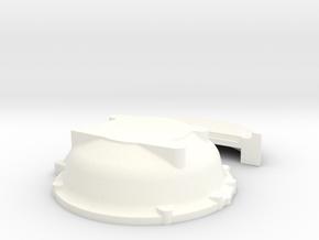 1/18 Buick Nailhead Bellhousing For Muncie Trans in White Processed Versatile Plastic