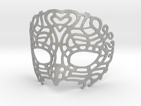Venetian Mask in Aluminum