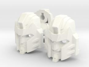Pharma head for deluxe Armada Starscream (2014) in White Processed Versatile Plastic