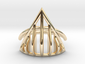 Ring The Mad Max / size 10GK 5US ( 16.1 mm) in 14k Gold Plated Brass