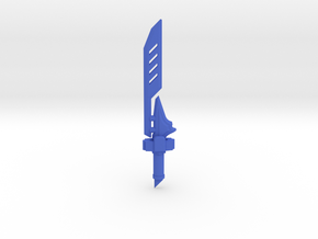 Shock Blade in Blue Processed Versatile Plastic
