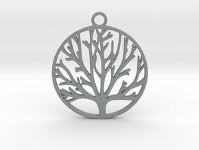 Tree of Life  in Polished Metallic Plastic